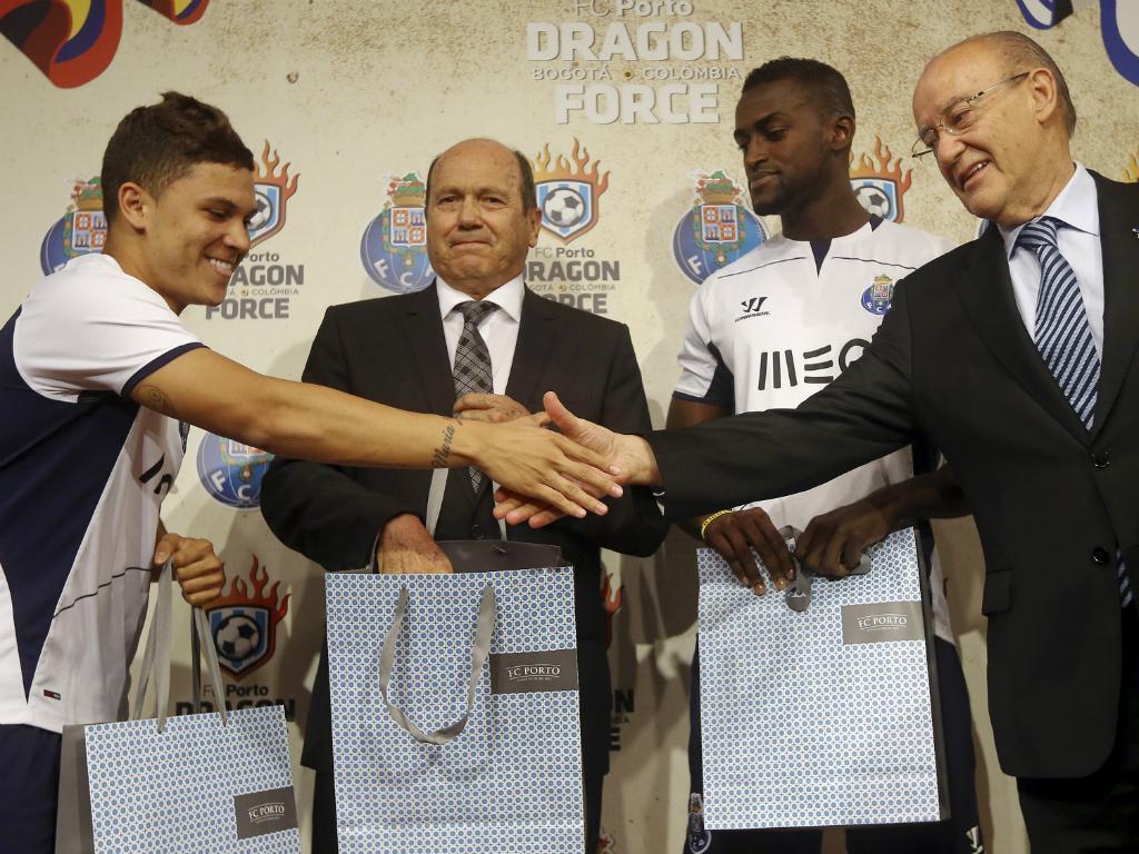 «FC Porto nunca falou em negociar o Juan Quintero»
