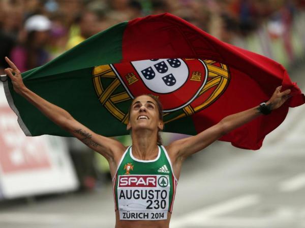 Atletismo: Jéssica Augusto medalha de bronze