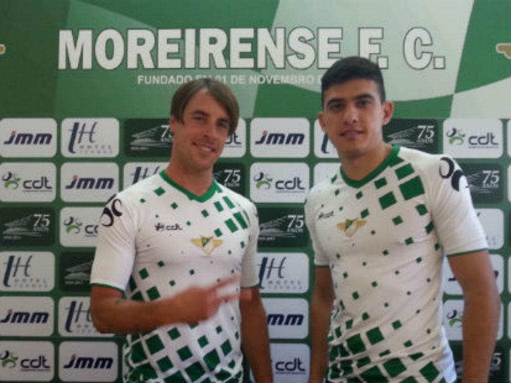 Moreirense: Vítor Gomes e Rodrigo Battaglia reforçam meio campo