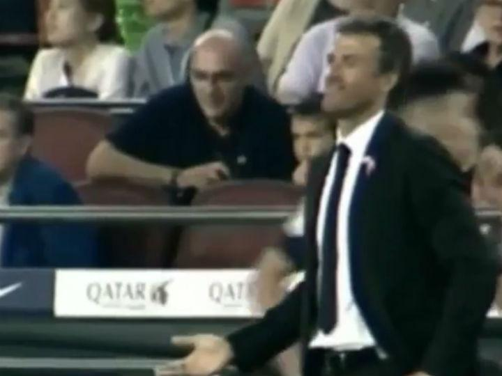 Luis Enrique explica-se depois da recusa de Messi em ser substituído