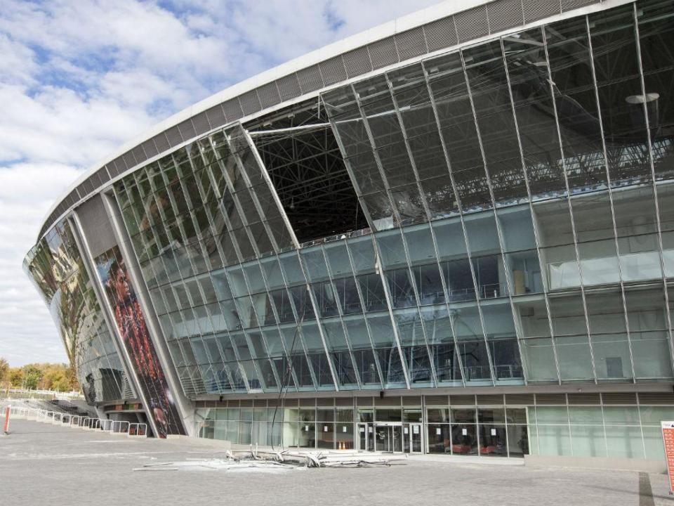Salvou-se da morte por um triz após explosão na Donbass Arena