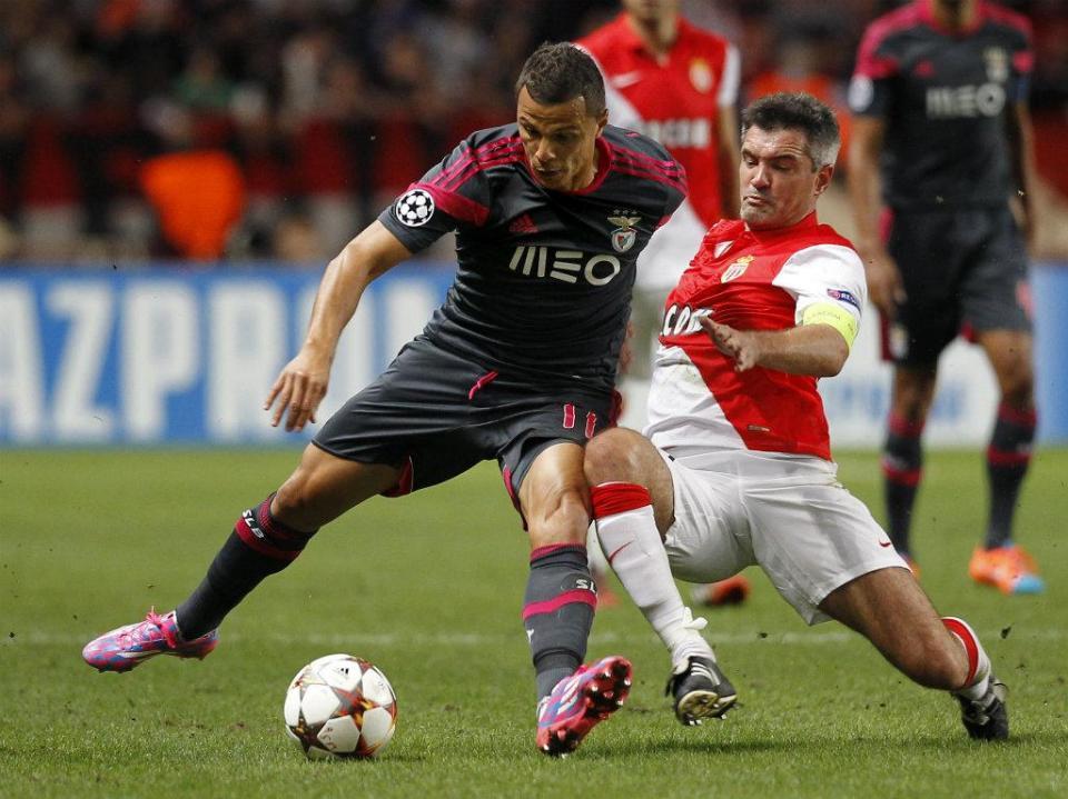 LC: Mónaco-Benfica, 0-0 (resultado final)