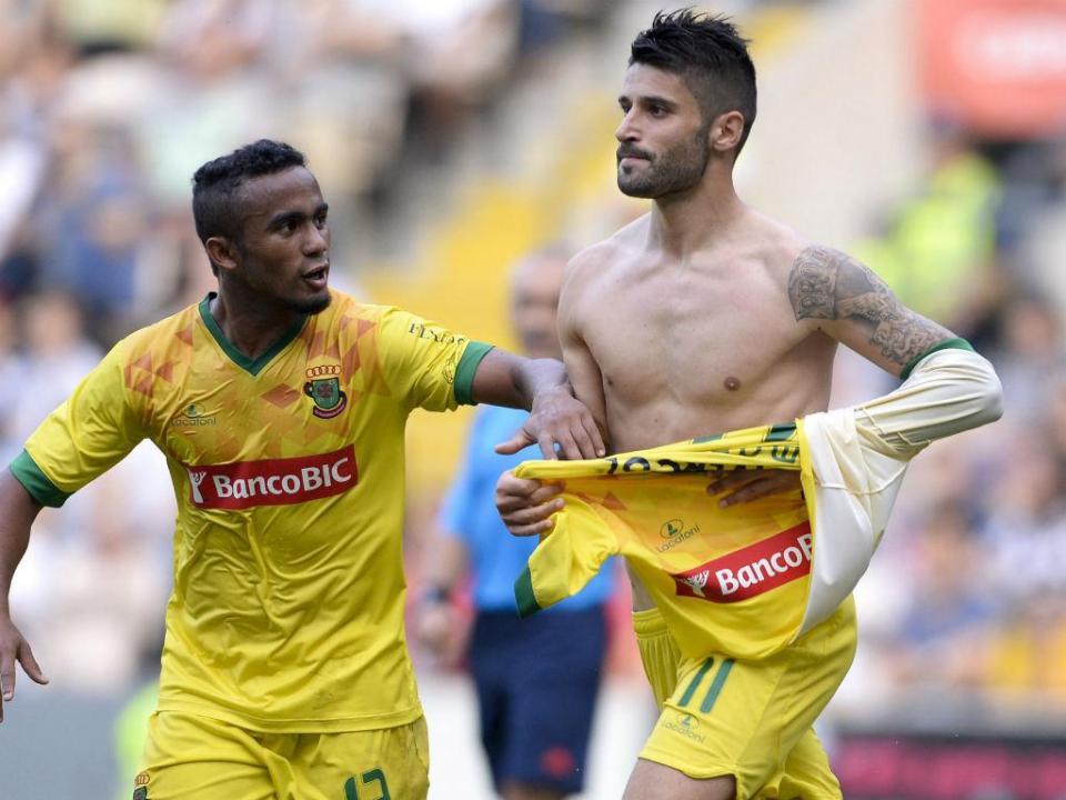 Goleador português da Liga agarra «a nova oportunidade»