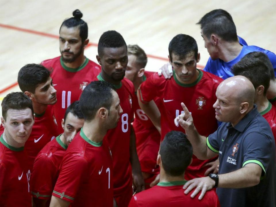 Futsal: confrontos terminam com o Portugal-Geórgia em Vila do Conde