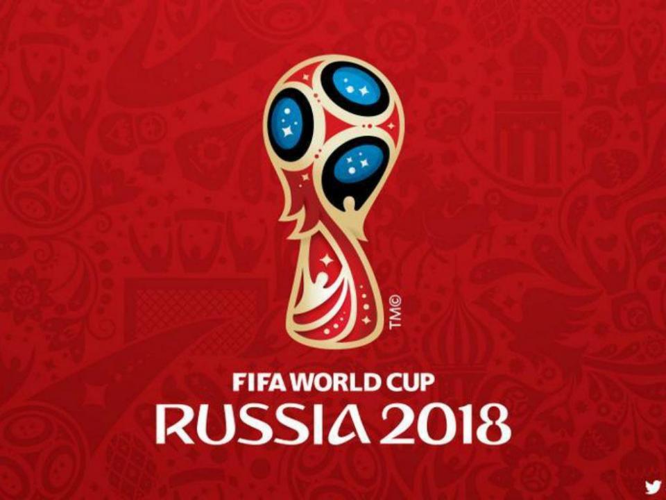 Este é o logotipo do Mundial da Rússia 2018