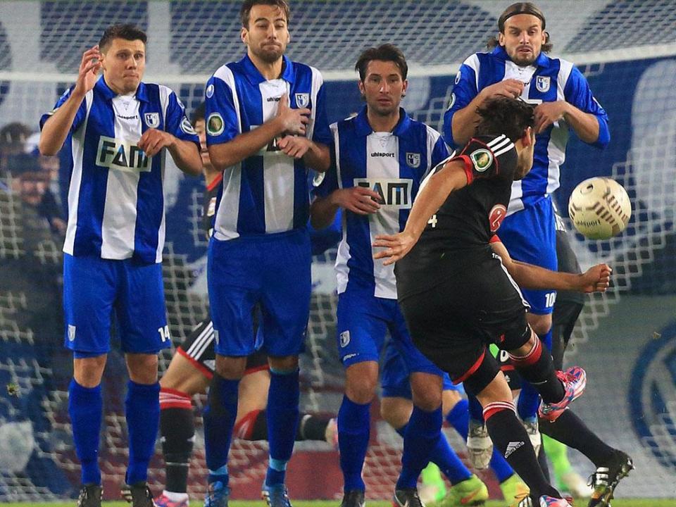Atenção Benfica: Bayer sofre perante equipa dos distritais