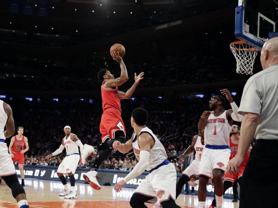 NBA: Chicago Bulls passam por cima dos NY Knicks