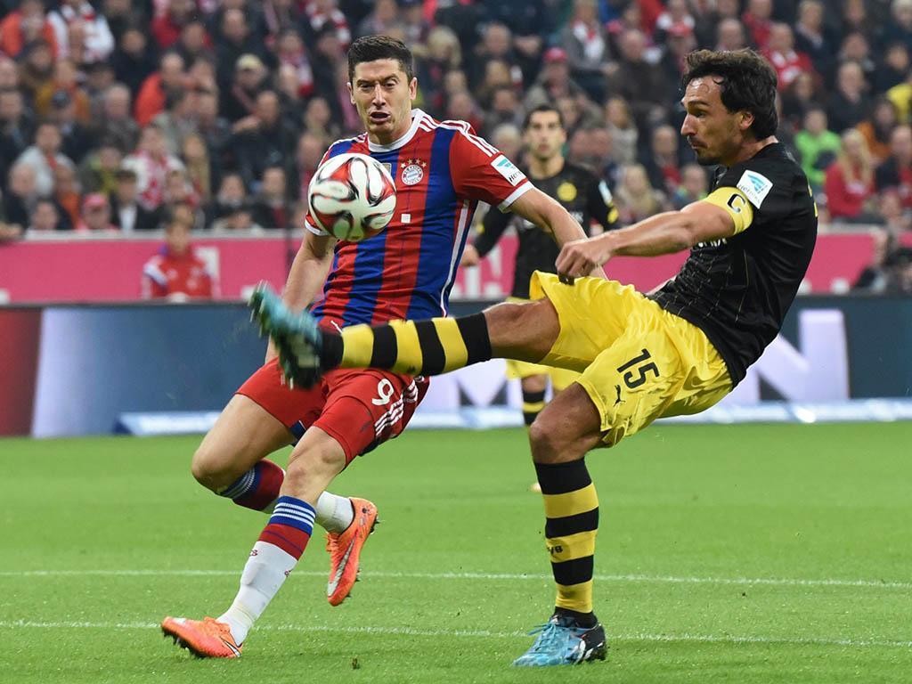 El Bayern mete en descenso al Dortmund