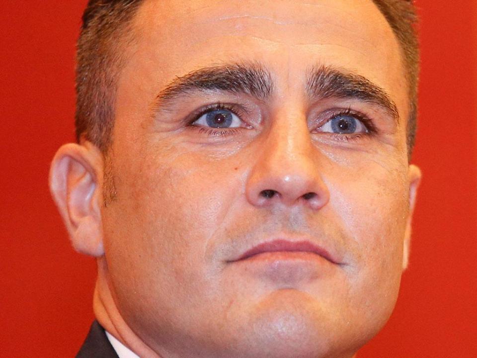 Fabio Cannavaro assume comando da seleção chinesa