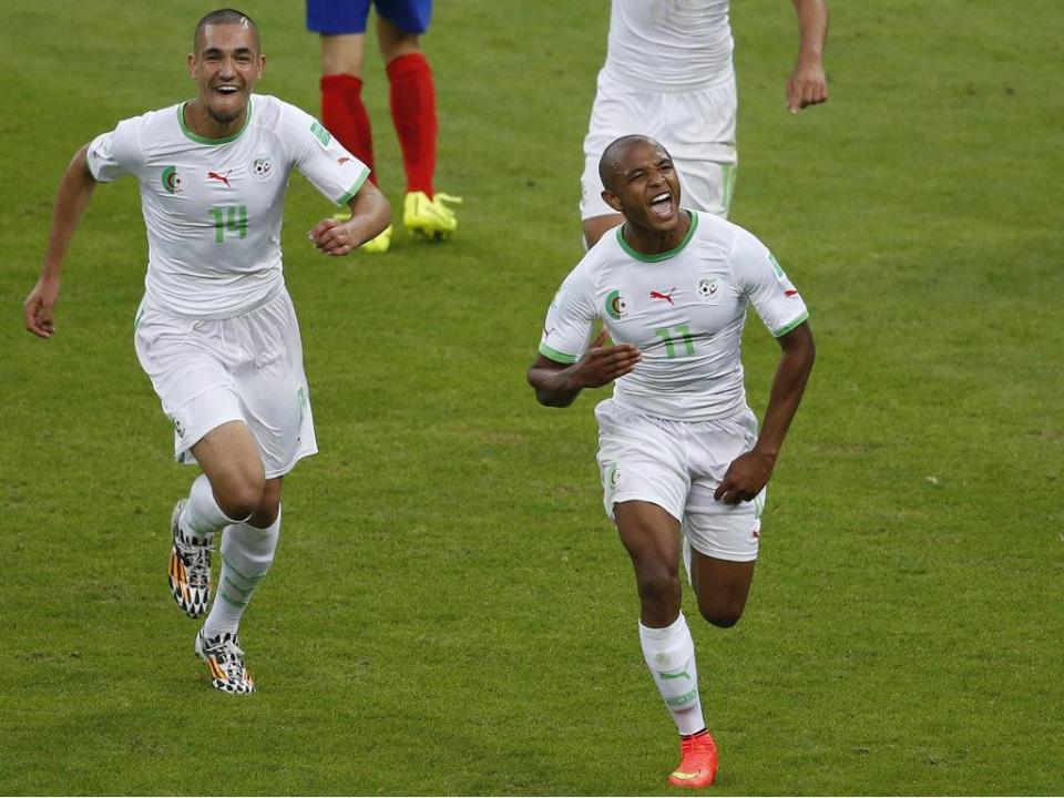 Brahimi titular na derrota da Argélia frente a Cabo Verde