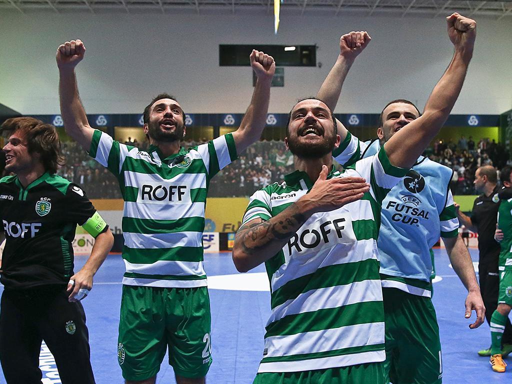 Futsal: Sporting organiza final-four da UEFA Cup