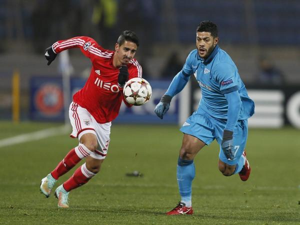 Zenit: duelo de reencontros com o Benfica