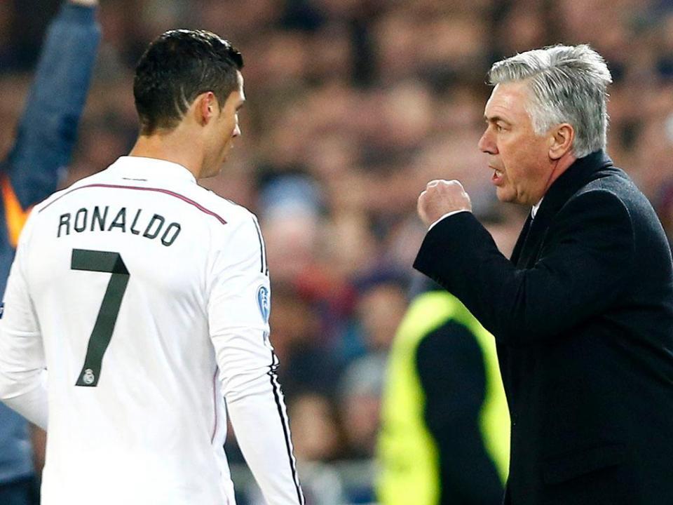Ancelotti: «Ronaldo nunca falha nos grandes jogos»