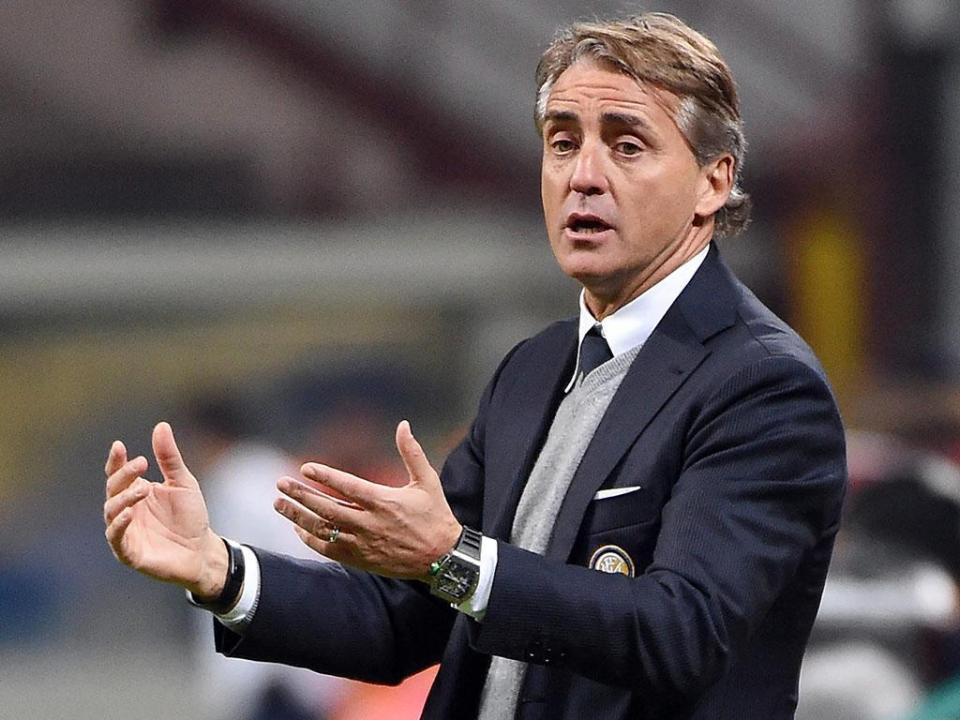 OFICIAL: Roberto Mancini é o novo selecionador de Itália