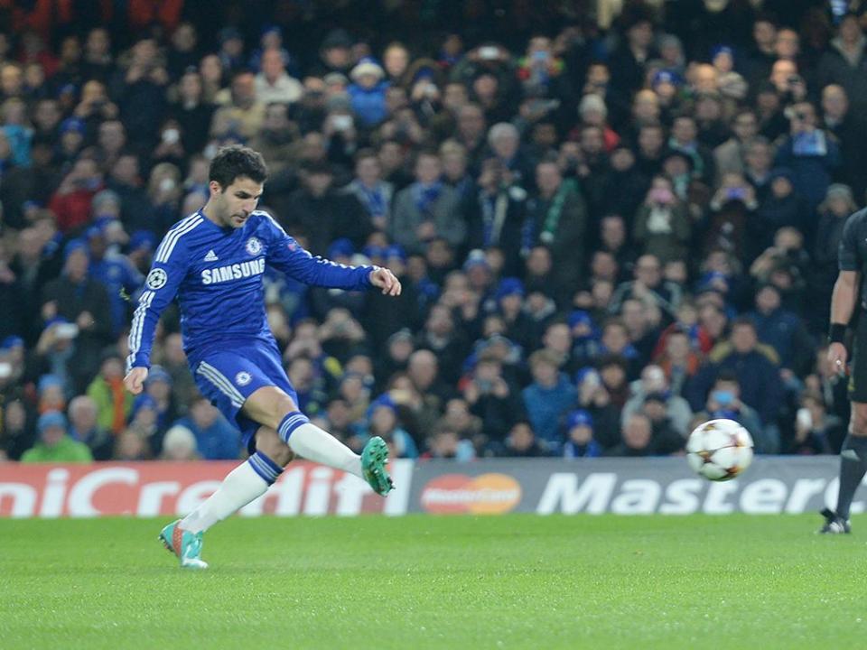 Chelsea publicou vídeo de agradecimento a Fàbregas