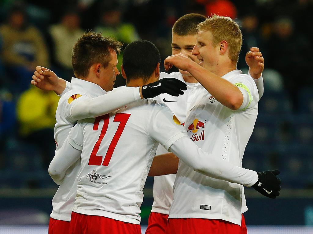 Vitória empatado pelo Salzburgo 1-1 — Liga Europa