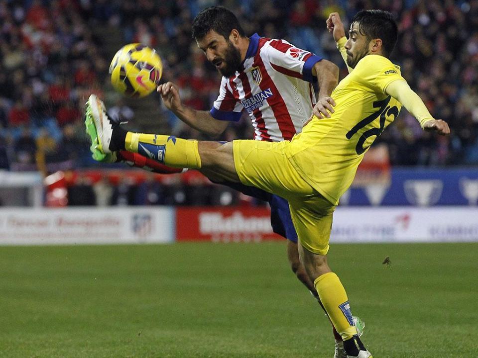 Villarreal: Jaume Costa riscado da eliminatória com o Sporting