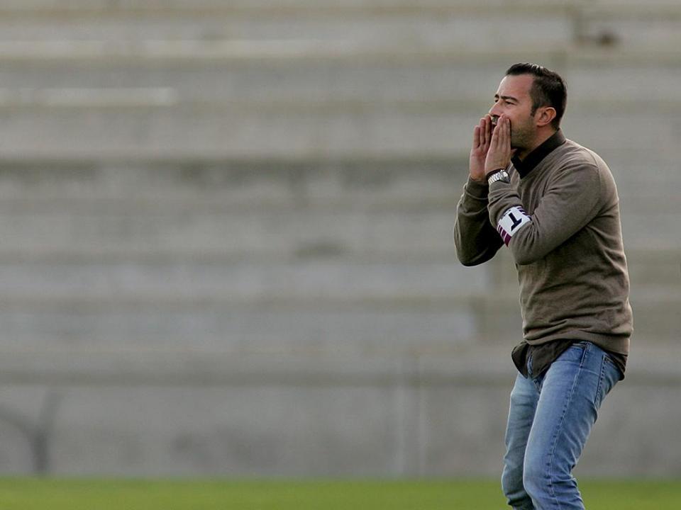 OFICIAL: João Barbosa já não é treinador do Cova da Piedade
