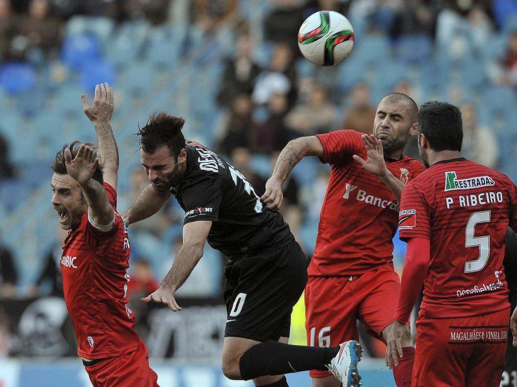 Penafiel: cinco baixas para a receção ao Benfica