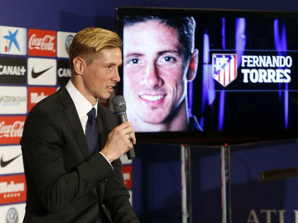 Fernando Torres: «Não vou sair do Atlético por causa de Simeone»