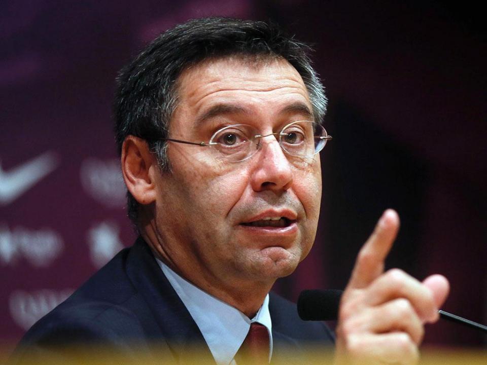 Presidente do Barça confirma conversa com empresário de Griezmann