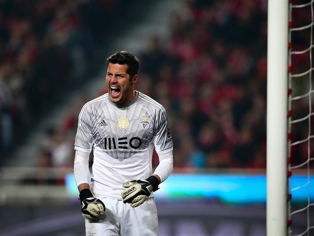 Júlio César de saída do Benfica