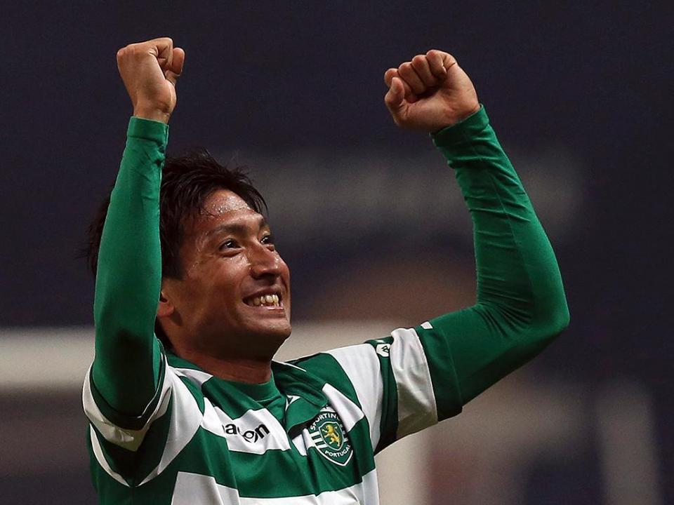 Skenderbeu-Sporting: Tanaka estreia-se a titular (oficial)