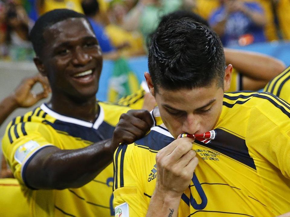 Mundial-2018: James marca e assiste na vitória da Colômbia