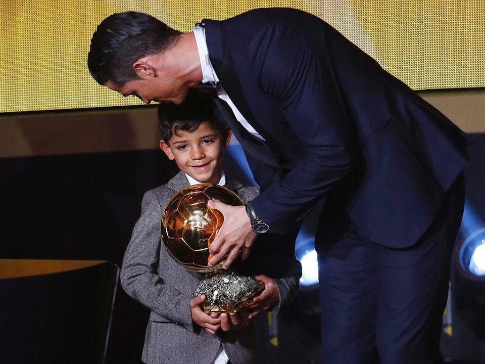Ronaldo: «O meu filho diz que vai ser melhor do que eu»