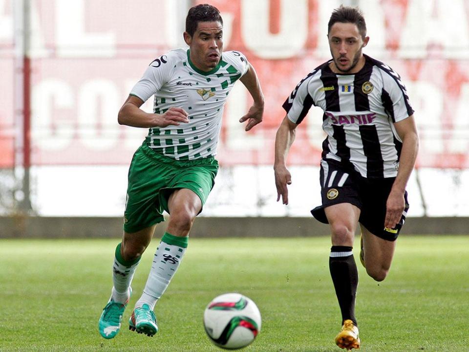 Moreirense com Anilton vence Tirsense em jogo-treino