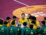 Mundial de Handebol: Qatar vs Brasil (EPA)