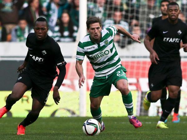 Sporting-Académica, 1-0 (resultado final)