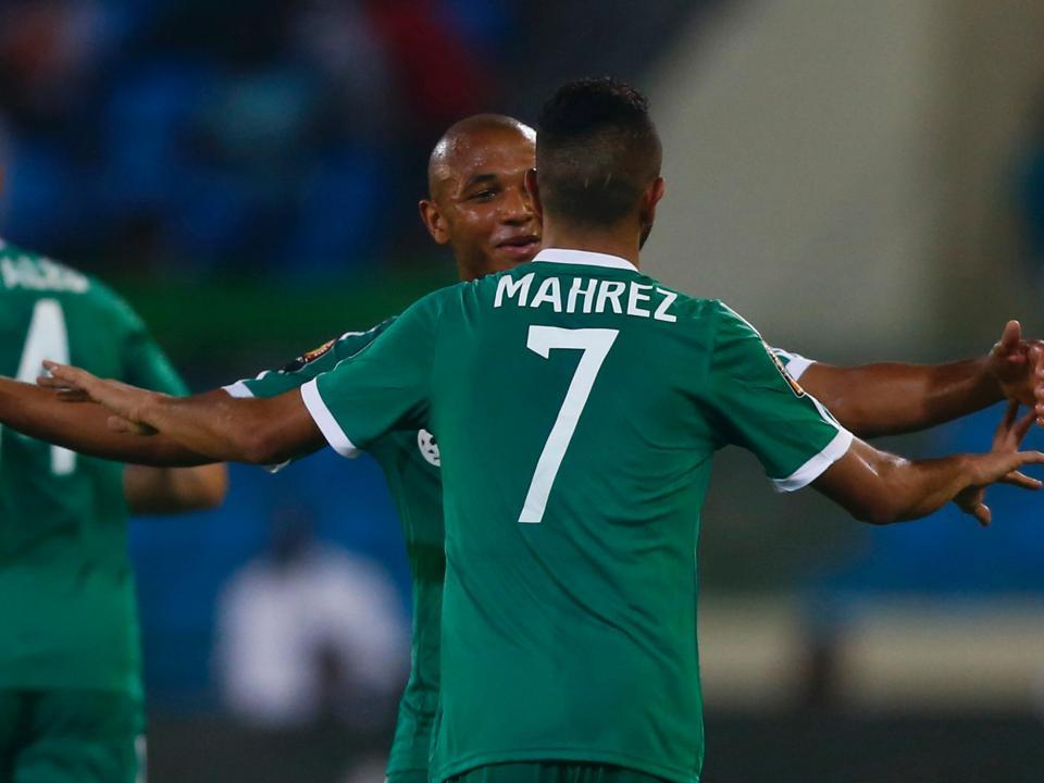 CAN: Argélia isola-se com Brahimi no onze