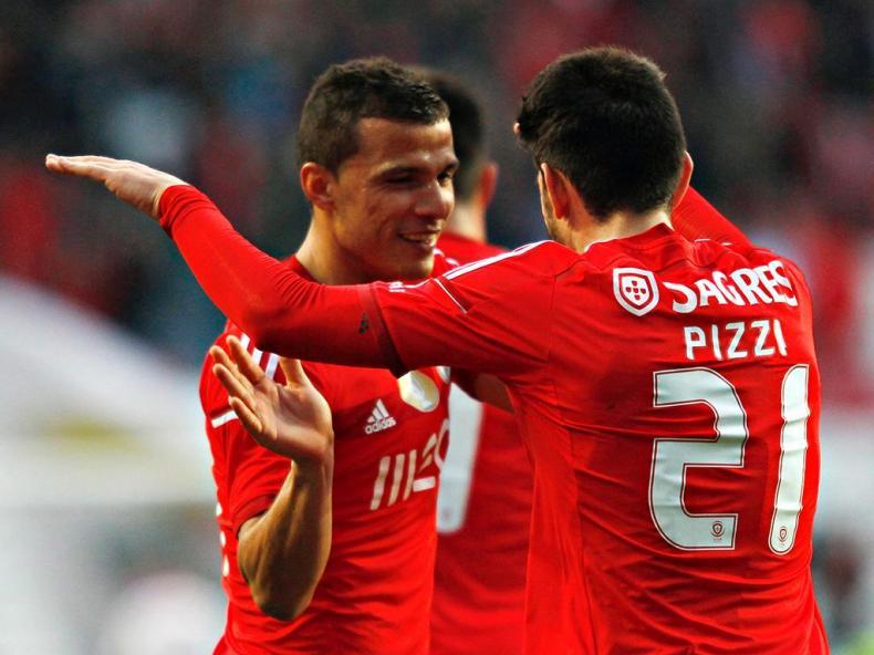 Benfica-Boavista (REUTERS/ Hugo Correia)