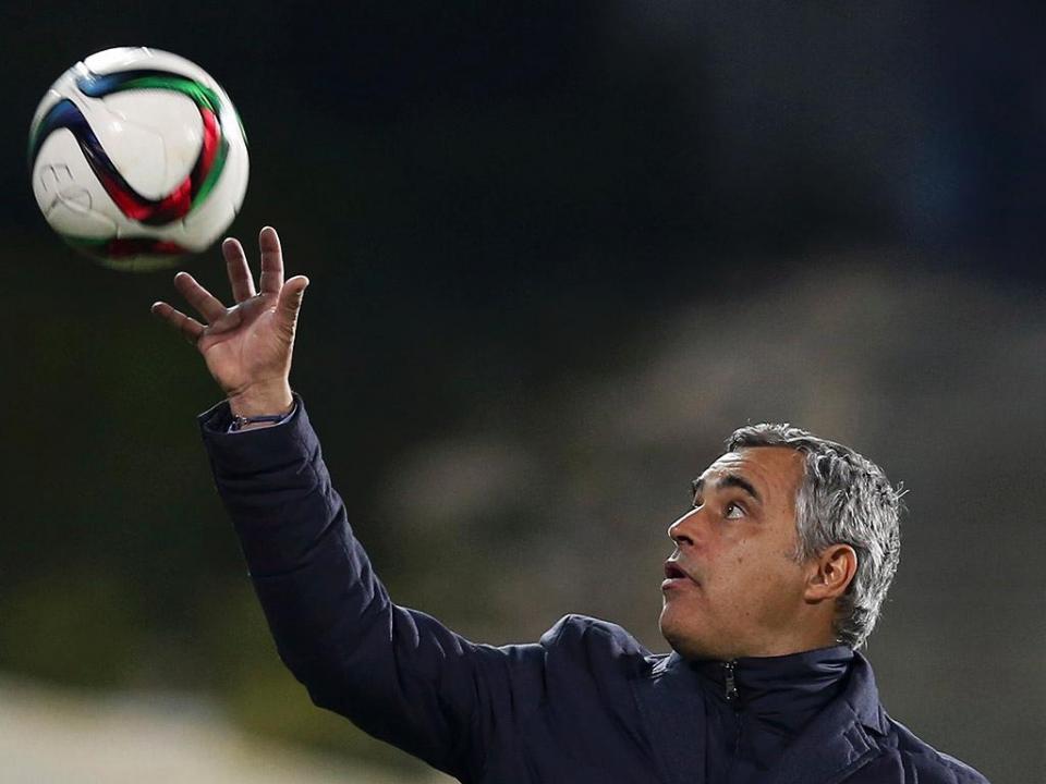 OFICIAL: José Couceiro é o novo treinador do V Setúbal