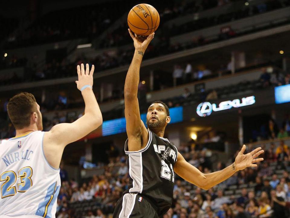 NBA: seis ressaltos fazem de Tim Duncan o sétimo melhor de sempre