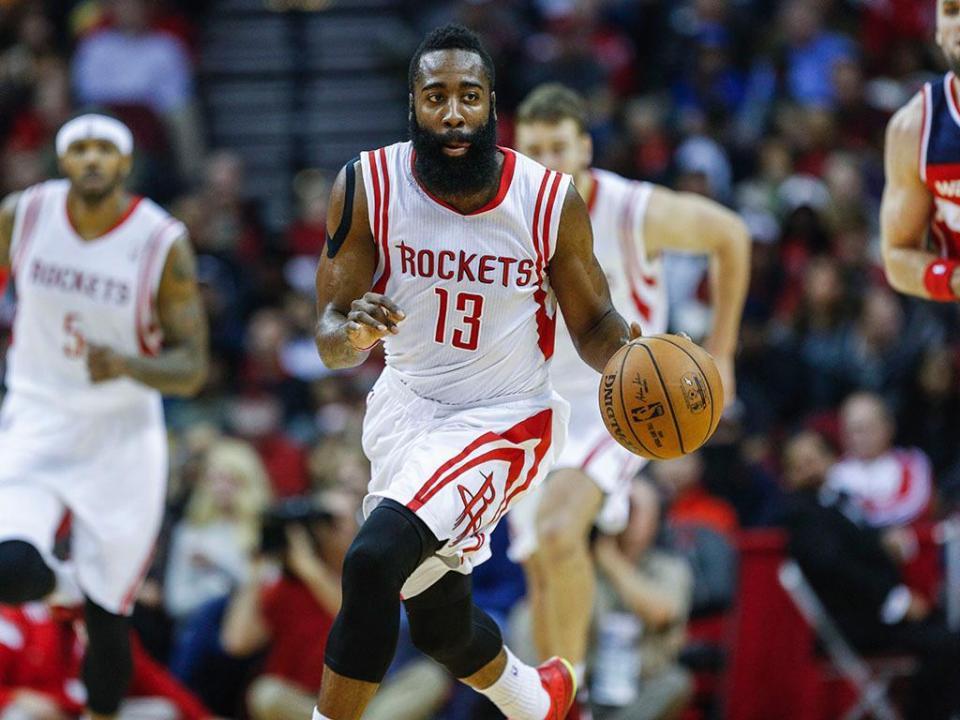 NBA: Harden puxa dos galões e Rockets empatam final Oeste