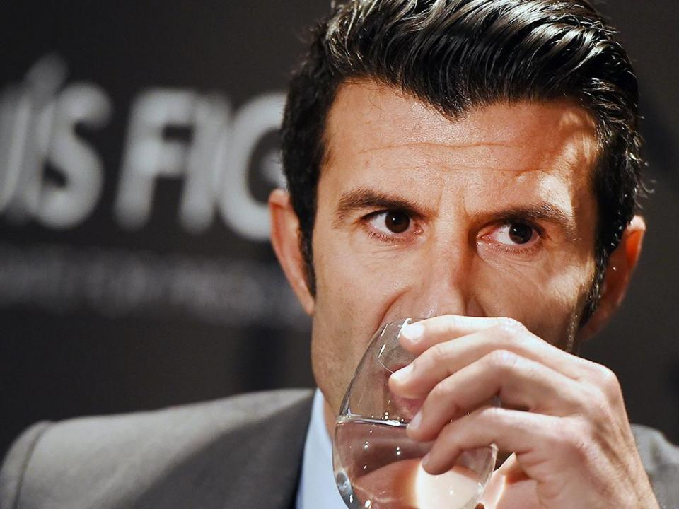 «Figo deixou o Real Madrid por questões presidenciais»