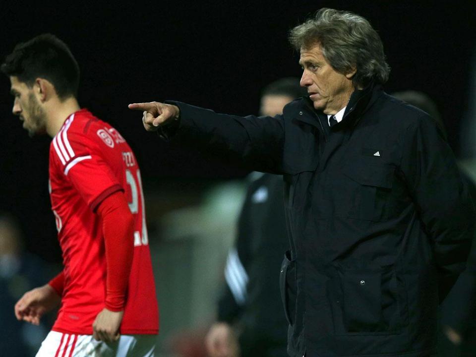 Jesus: «O Benfica transpira confiança»