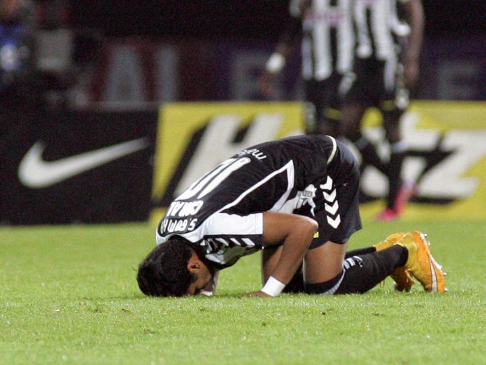 Nacional esteve a perder, mas venceu Sporting B com Bruno Paulista