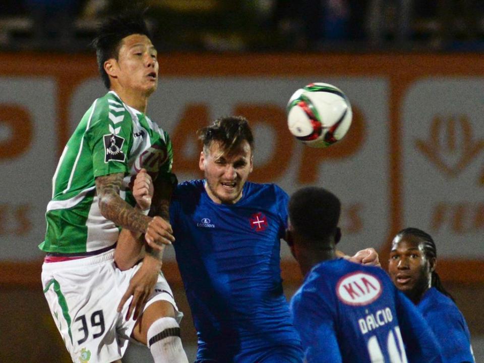 V. Setúbal-Belenenses, 1-1 (resultado final)