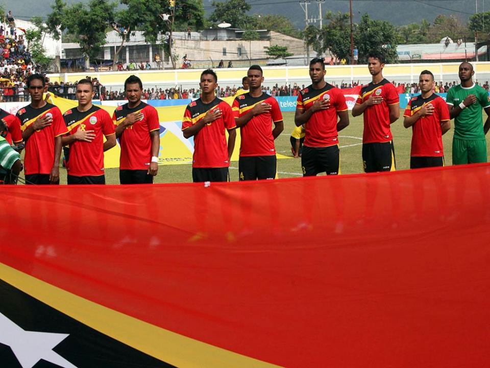 Timor-Leste penalizado com sete derrotas e 60 mil euros