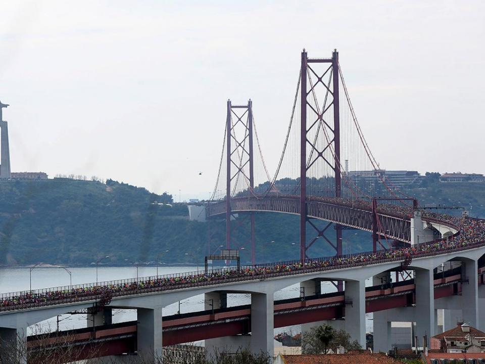 Meia maratona de Lisboa não vai partir da Ponte 25 de abril