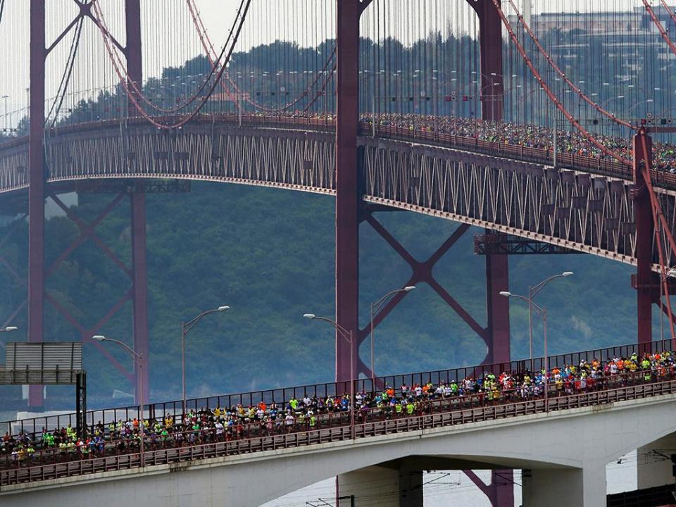 Etíopes e quenianos voltam a dominar a meia maratona de Lisboa