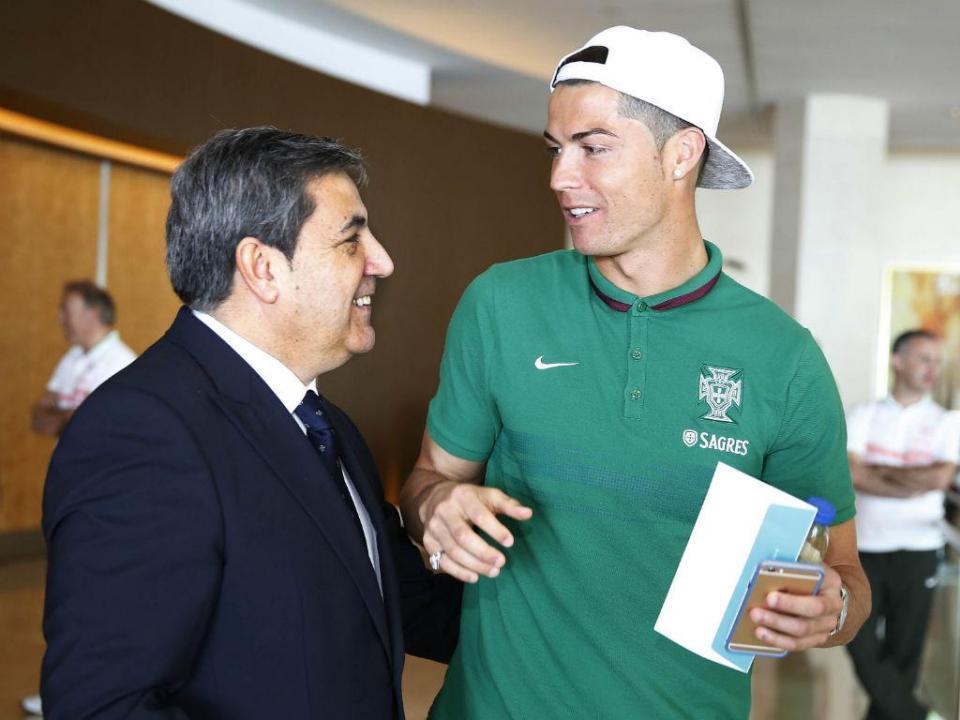 Fernando Gomes manifesta solidariedade para com Cristiano Ronaldo