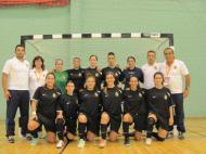 Clube de Bairro: Inter-Vivos de Martim Longo (Luís Conceição, na Seleção do Algarve de futsal feminino: o segundo de pé, à direita)