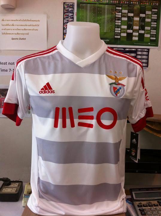 b179ab7bbee5e A camisola alternativa do Benfica 2015 16 vai ter listas horizontais