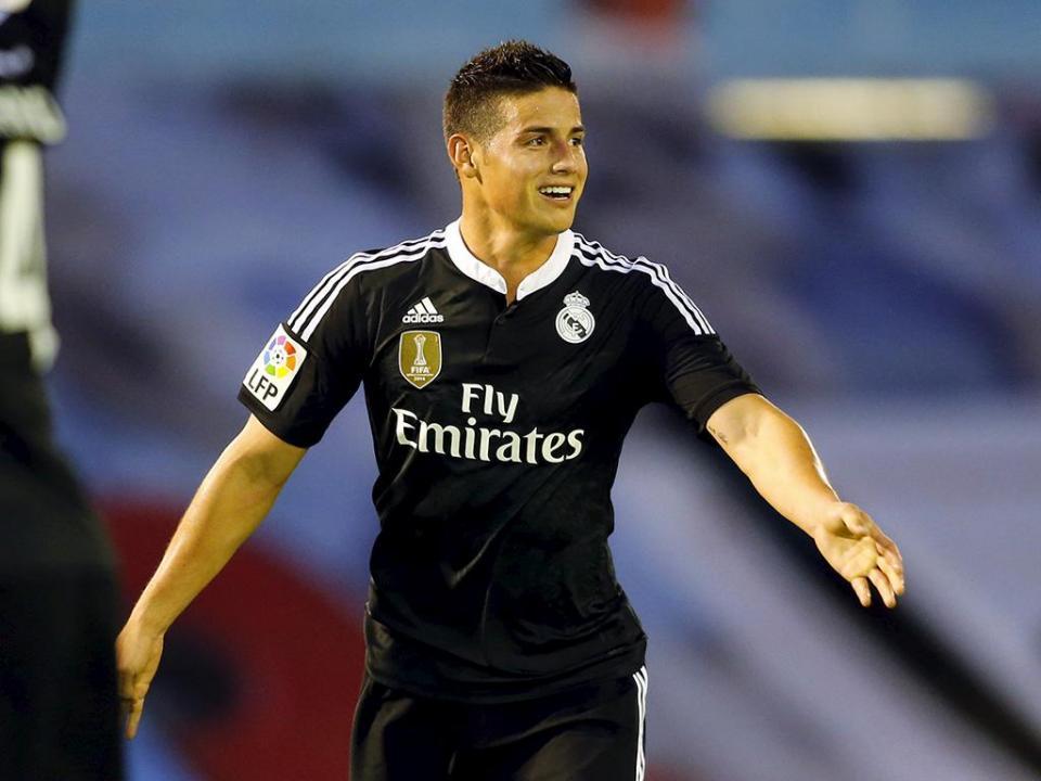 James Rodríguez: «Fico no Real Madrid, vou triunfar»