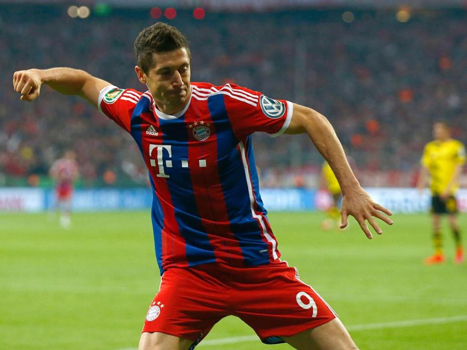 Alemanha: Bayern goleia e Aubameyang faz hat-trick na taça