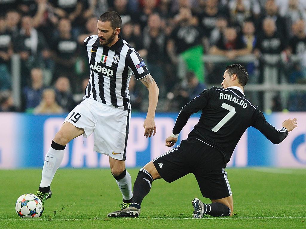 AC Milan pagou 40 milhões de euros à Juventus por Bonucci